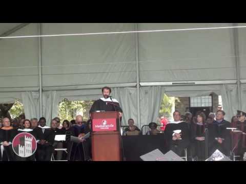 James Badge Dale  Undergraduate Commencement 2016