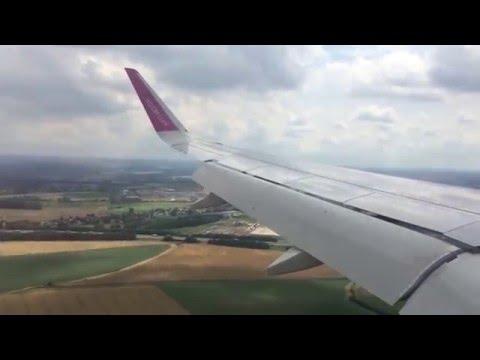 [Landing] Wizzair A320-232 Sharklets | Bucharest Otopeni - Brussels South Charleroi