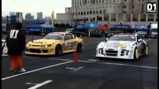 Гоча Чивчян в Японии на D1GP 2013 Odaiba Tokyo Japan TOP16 Drift