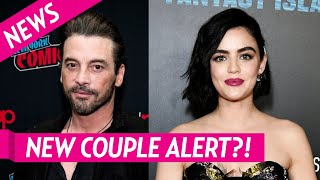 Lucy Hale Spotted Kissing Riverdale's Skeet Ulrich