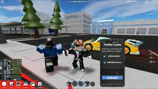 ROBLOX Vehicle Simulator ALL WORKING CODES 2019!