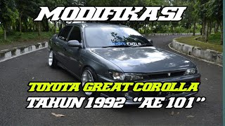 MODIFIKASI TOYOTA GREAT COROLLA FX TAHUN 1992.