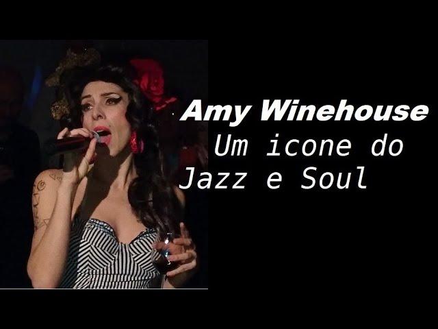 Amy Winehouse um icone do jazz e soul.