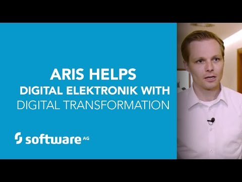 ARIS Helps Digital Elektronik with Digital Transformation