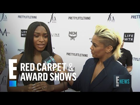 Normani Spills on Working With Khalid | E! Live from the Red Carpet