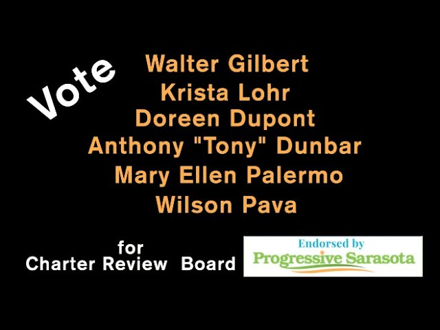 Charter Review Board Oct. 14, 2020