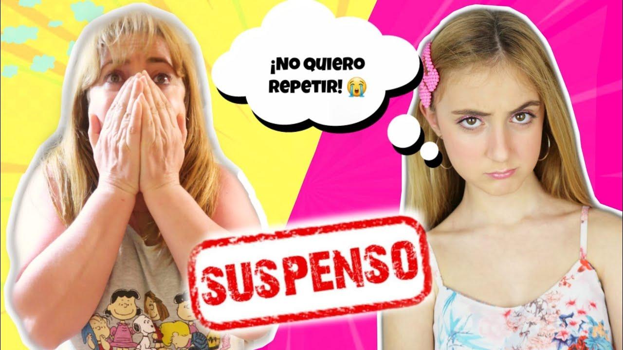SUSPENDO TODO! LAS PEORES NOTAS Y REPITO CURSO! CÁMARA OCULTA - Silvia Sánchez