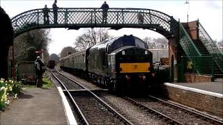 Mid Hants Railway Diesel Gala - 27th April 2013
