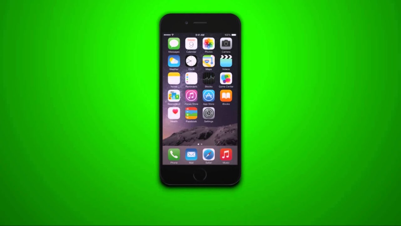 screen for iphone 6 iphone 6 on a green screen 4210