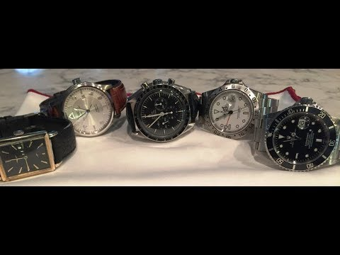 COLLECTION REVIEW - do not resell dogs in a soft market and buy stars! ROLEX