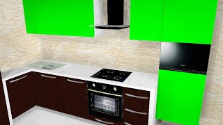 PRO100 проект Кухни под заказ в Харькове(Наш Сайт http://stolyarnyceh.com.ua Кухня изготавливается на заказ под любые размеры. Возможны любые варианты сочетани..., 2015-04-05T07:48:17.000Z)