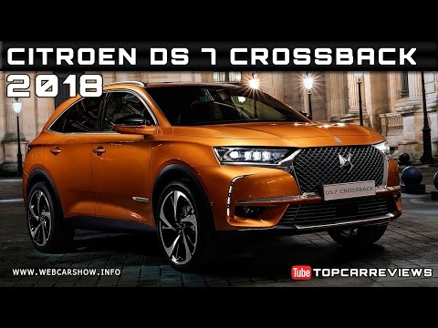 2018 Citroen DS 7 Crossback Review Rendered Price Specs Release Date
