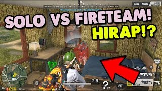 SOLO VS FIRETEAM | MAHIRAP O MADALI?  [TAGALOG] (Rules of Survival: Battle Royale)