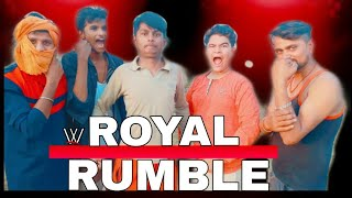 WWE ROYAL RUMBLE (2019) match | official video by badnam group entertainment |