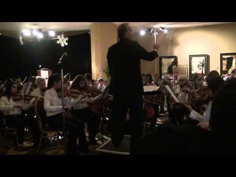 """Let it Snow."" Metropolitan Youth Symphony, Division II, Mesa, AZ. Christmas Concert 2010"