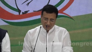 LIVE: AICC Press Briefing By Randeep Singh Surjewala at Congress HQ