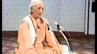 How can one live with a husband who does not care? | J. Krishnamurti