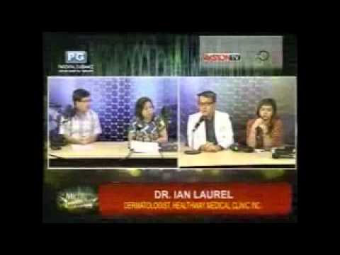Dr. Ian Laurel of Healthway Medical-Metro Sabado guesting about Psoriasis
