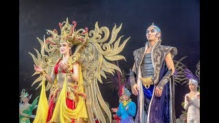Golden Mask Dynasty Show, Beijing, China, beautiful small clips