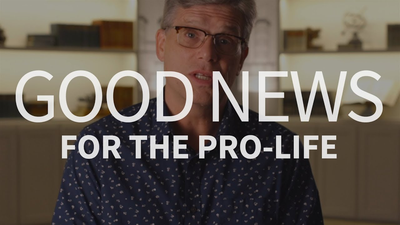 Why should we be encouraged in the pro-life movement?