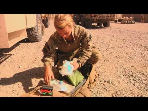 My Job In Afghanistan: Combat Medical Technician
