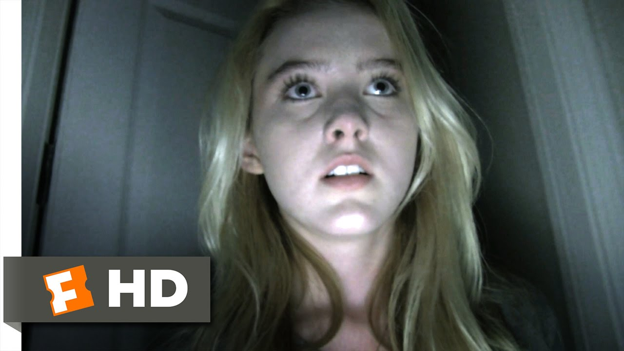 Paranormal Activity 4 (6/10) Movie CLIP - The Garage Door (2012) HD - YouTube