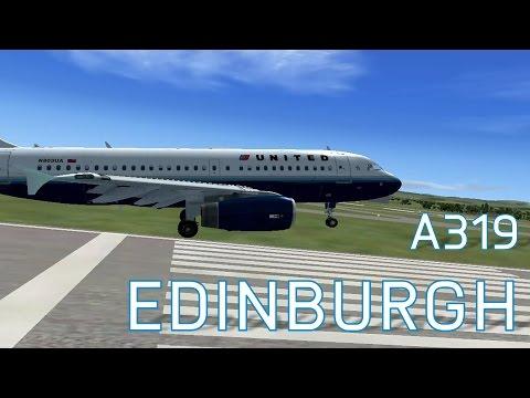 FSX United A319 at Edinburgh | Landings | Series 4 Episode 7