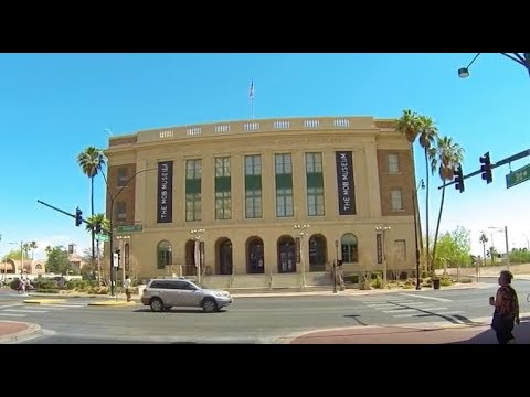"""""""The Mob Museum"""" in Las Vegas Nevada USA"""