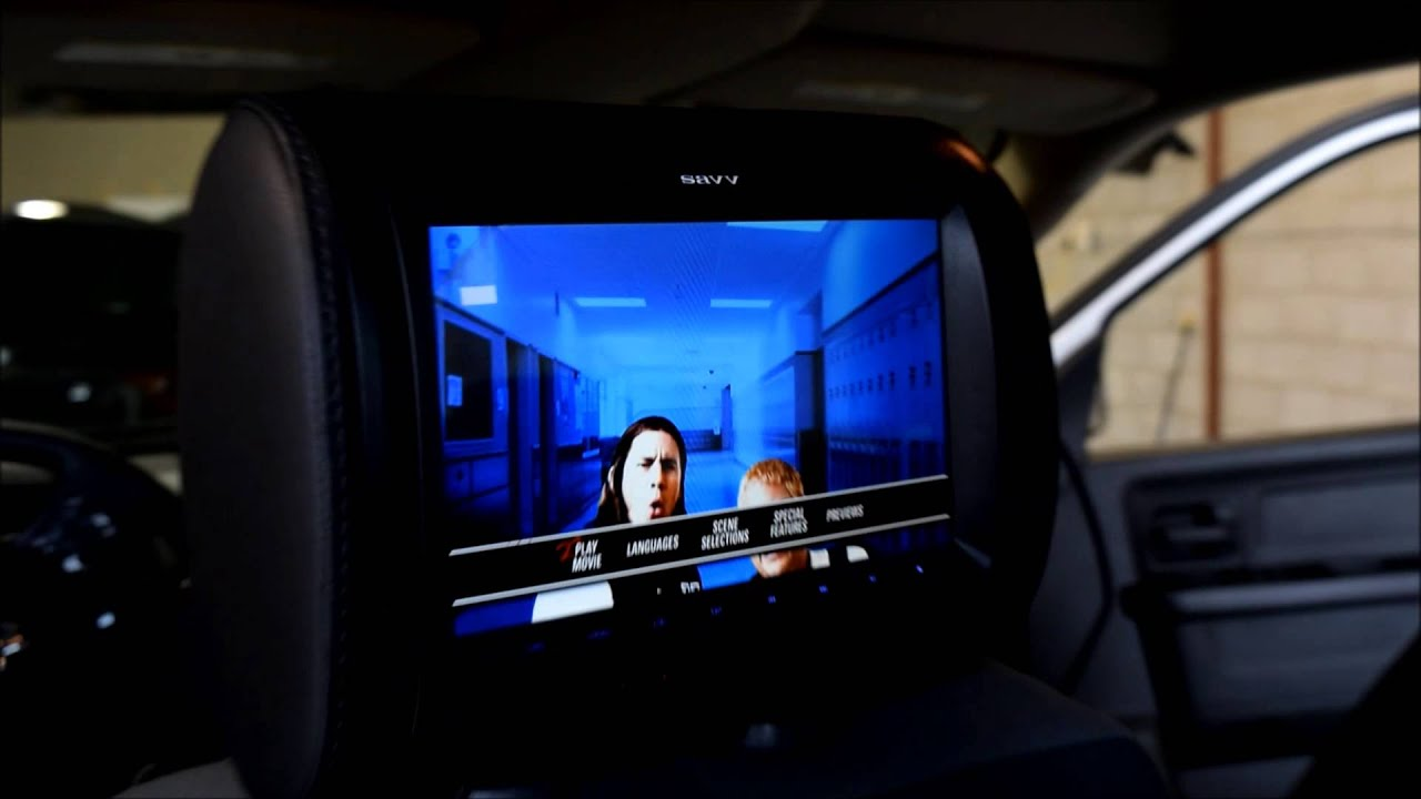 Dodge Ram Headrest DVD Palyer Installation 9 Dual