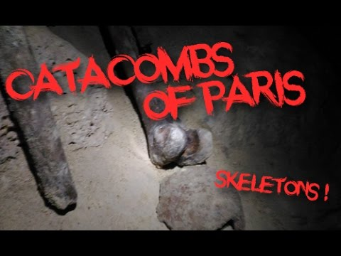 FRENCH URBEX #CATACOMBS OF PARIS #The underground society!