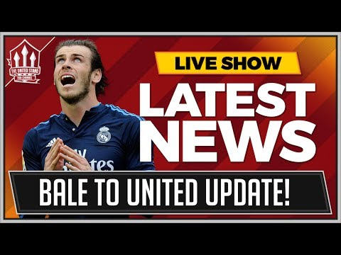 Gareth BALE's Agent Gives MANCHESTER UNITED Transfer Update | MAN UTD Transfer News