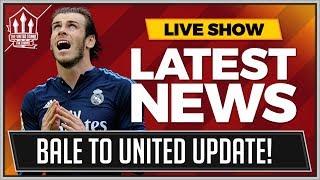 Gareth BALE's Agent Gives MANCHESTER UNITED Transfer Update | MAN UTD Transfer News