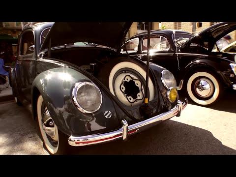 Classic VW BuGs VolksBlast 2014 Vintage Air-Cooled Beetle Car Show Miami