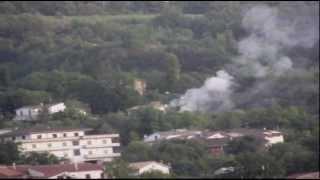 Ufo alieni. Firmato armistizio a Mazzabucio scende in guerra Cantalice. 28.9.2012 CSF Rieti