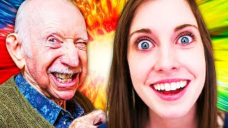 Overly Clingy Girlfriend vs. OLD MAN on Black Ops 3! (Call of Duty Trolling)