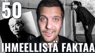 50 IHMEELLISTÄ FAKTAA MAAILMASTA #24