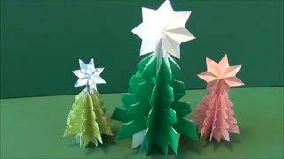 みんなで作ろう!折り紙でできるミニミニツリー