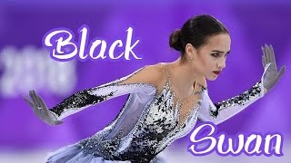 Alina Zagitova Black swan
