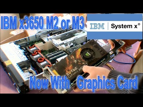 Graphics card in a IBM Systen X x3650 M2 or M3 - 190