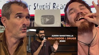 BOLLYWOOD & DRUGS | Azeem Banatwalla Stand-Up Comedy (2020) REACTION!!