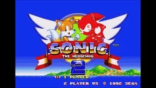 Spiderhog in Sonic the Hedgehog 2 (Genesis) - Longplay