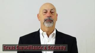 Houston Texas Surveillance & Security Camera Client Testimonial