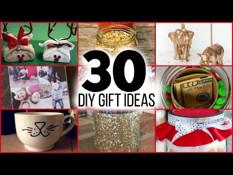 30 DIY CHRISTMAS GIFTS FOR GUYS, GIRLS, PARENTS, FRIENDS AND FAMILY
