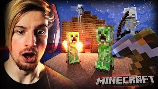 SO I PLAYED MINECRAFT FOR THE FIRST TIME (kinda) || Minecraft