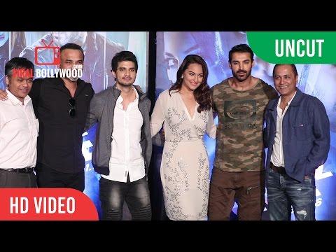 UNCUT - Force 2 Official Trailer Launch | John Abraham, Sonakshi Sinha and Tahir Raj Bhasin