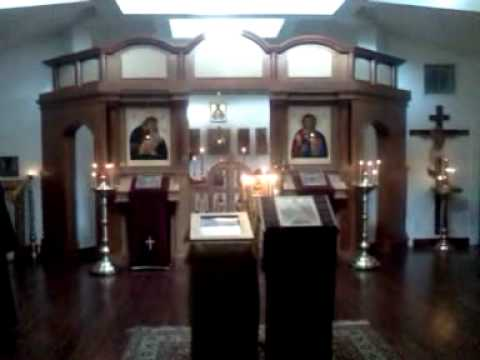 Divine Liturgy at the Monastery of St. John of Shanghai and San Francisco - 1