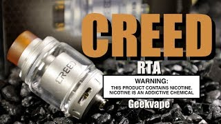 CREED RTA By Geekvape ~Vape RTA Review~