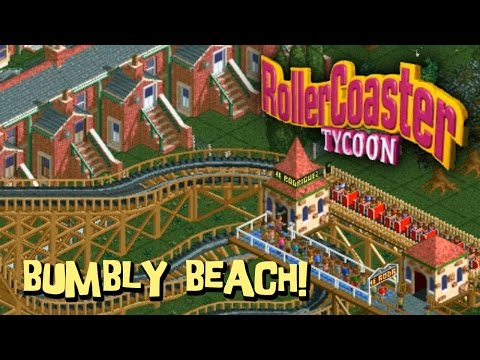 RollerCoaster Tycoon 1 - Bumbly Beach!