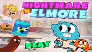 Cartoon Network Games: The Amazing World of Gumball - Nightmare In Elmore
