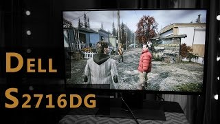 Dell S2716DG Review and difference to IPS - IPS vs TN Comparison (ASUS PR279Q and ASUS PG278QR)